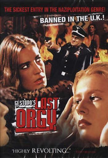 L'ultima orgia della Gestapo locandina 1