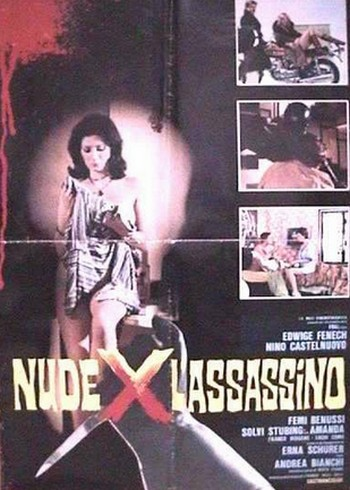 Nude per l'assassino locandina 1