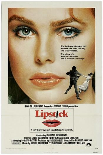 Lipstick Stupro locandina 1