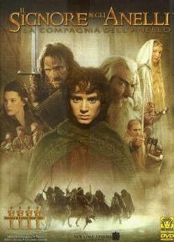 13 Il Signore degli Anelli La Compagnia dell'Anello locandina