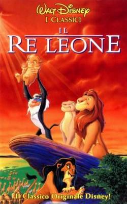 20 Il re leone locandina