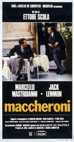 20 Maccheroni locandina