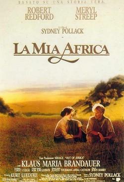 4 La mia africa locandina