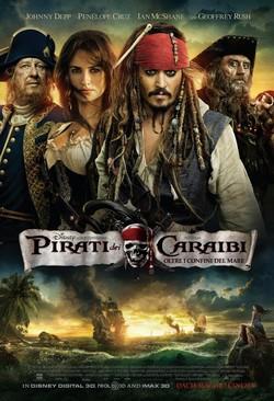 5 Pirati dei Caraibi Ai confini del mondo locandina