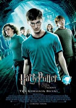 7 Harry Potter e l'ordine della fenice locandina
