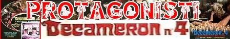 Decameron quattro banner protagonisti