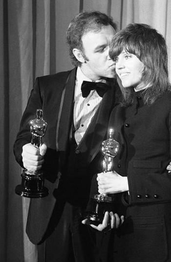 Gene Hackman e Jane Fonda