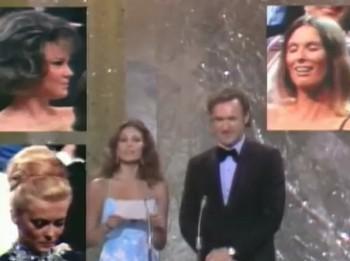 Gene Hackman e Raquel Welch premiano la miglior attrice non protagonista