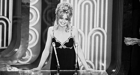 Goldie Hawn conduttrice Oscar 1971