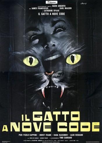 Il gatto a nove code locandina 1