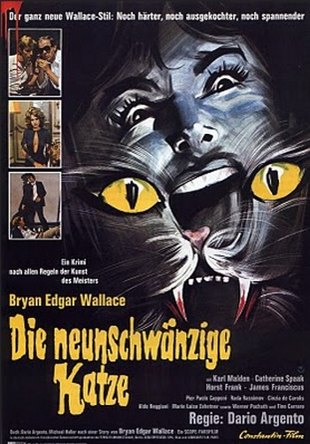 Il gatto a nove code locandina 2