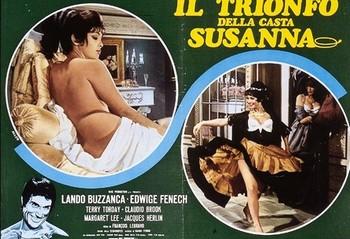 Il trionfo della casta Susanna foto lobby card