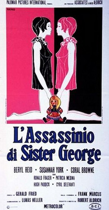 L'assassinio di Sister George locandina 2