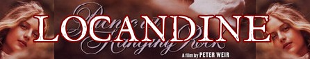 Picnic a Hanging rock banner locandine
