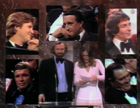 Richard Harris e Sally Kellerman premiano il miglior attore non protagonista