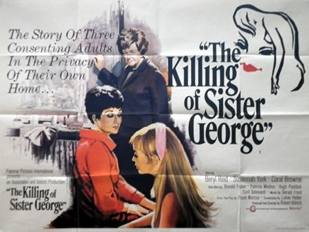 The Killing Of Sister George locandina wallpaper