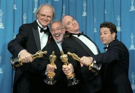 Dennis Muren, Stan Winston, Phil Tippett e Michael Lantieri  Oscar
