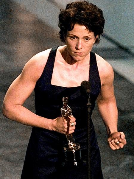 Frances McDormand Oscar 2