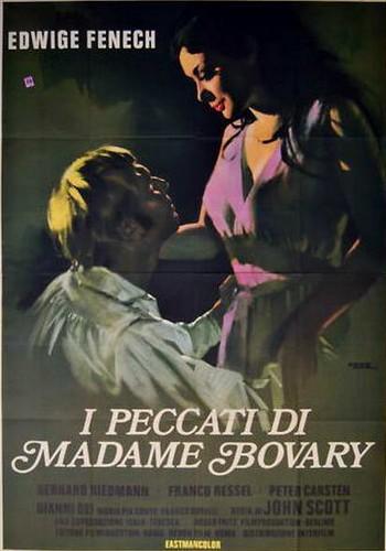 I peccati di Madame Bovary locandina 2