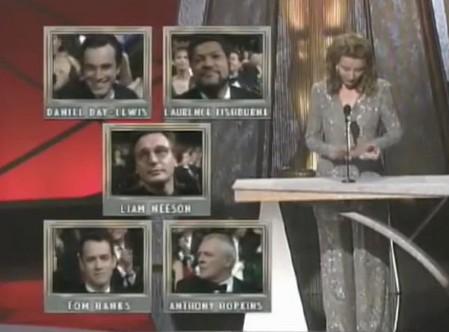 Nomination Oscar attore