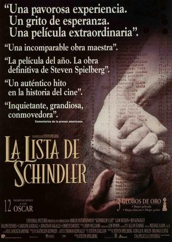 Schindler list locandina 2