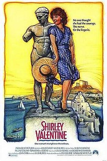 Shirley Valentine la mia seconda vita locandina 2