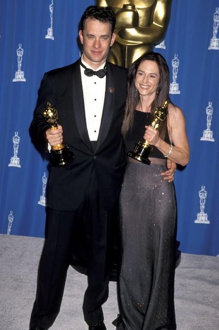 Tom Hanks e Holly Hunter Oscar