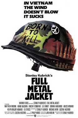 3 Full Metal Jacket locandina