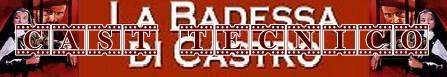 La badessa di Castro banner cast
