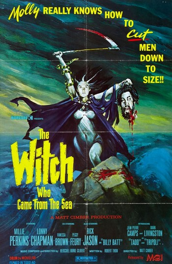 The witch who came from the sea locandina 2