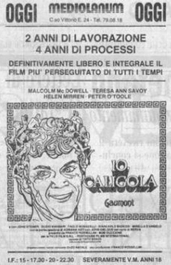 Caligola locandina 2