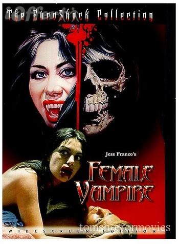 Female vampire locandina 2