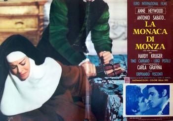 La monaca di Monza lobby card 1