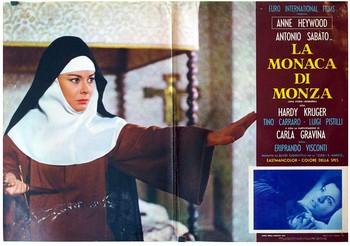 La monaca di Monza lobby card 2