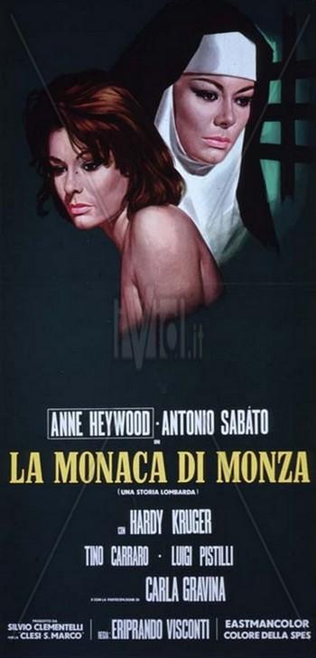 La monaca di Monza locandina 1
