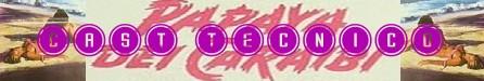 Papaya dei caraibi banner cast