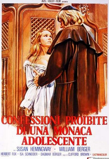 Confessioni proibite di una monaca adolescente locandina 5