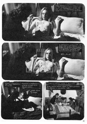 Il sesso della strega cineromanzo 16