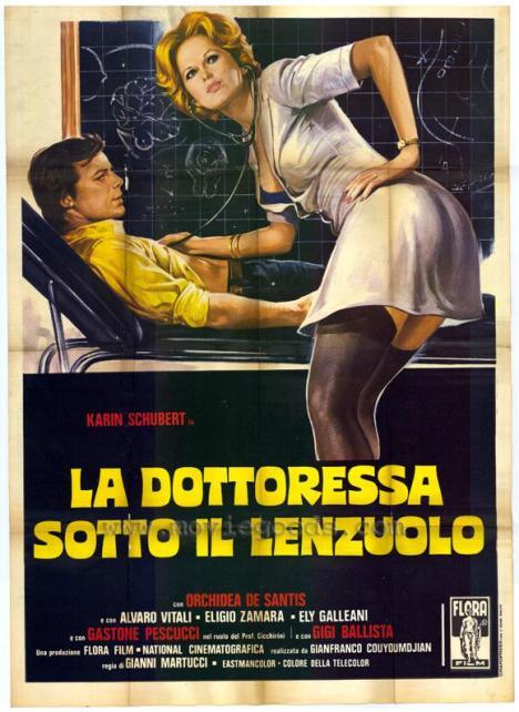 La dottoressa sotto il lenzuolo locandina 2