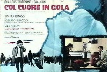 Col cuore in gola lobby card 3