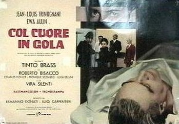 Col cuore in gola lobby card 4