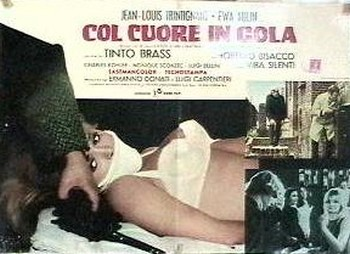Col cuore in gola lobby card 6