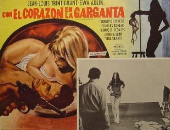 Col cuore in gola lobby card 7