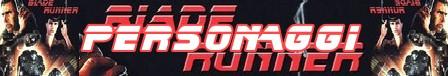Blade runner banner personaggi