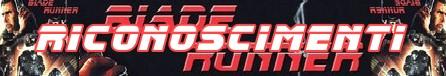 Blade runner banner riconoscimenti