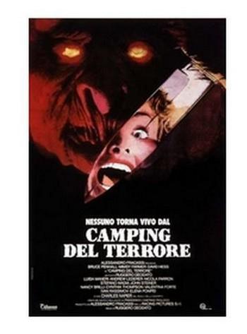 Camping del terrore locandina