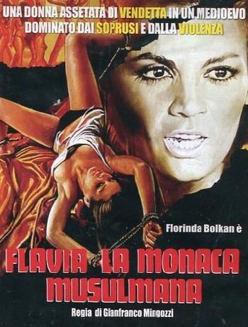 Flavia la monaca musulmana locandina