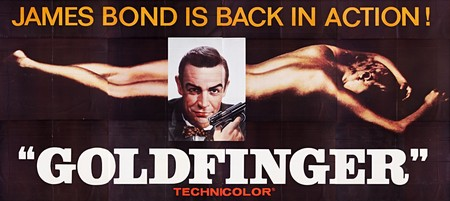 Goldfinger locandina 2