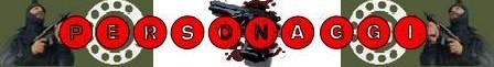 La legge violenta della squadra anticrimine banner personaggi