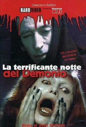 La terrificante notte del demonio locandina